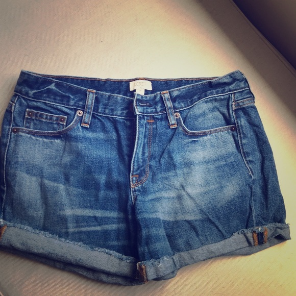 J. Crew Pants - J. Crew denim shorts - 26